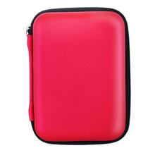 品怡 2.5寸移动硬盘包 移动电源包 数码相机包 防震防水旅行包 红色产品图片主图