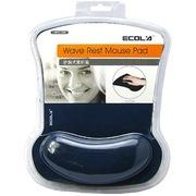 宜客莱 MPD-016BL 超舒服Pro-Fit人体工学护腕式鼠标垫(蓝色)