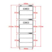 惠通 DHC500升 电子干燥箱(防潮柜 全自动元件单反相机防潮箱摄影)