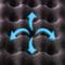 SANWA SUPPLY 山业SANWA 多孔气泡鼠标垫 人体工学腕垫 预防鼠标手 台湾制造 MPD-GEL20GR产品图片1