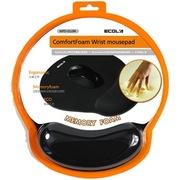 宜客莱 MPD-012BK ErgoFits超舒适记忆棉护腕鼠标垫