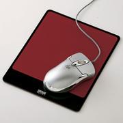 SANWA SUPPLY 山业SANWA MPD-ALUMR 金属铝制鼠标垫 适合激光/光学鼠标 日本制造 红色