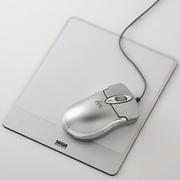 SANWA SUPPLY 山业SANWA MPD-ALUMW 金属铝制鼠标垫 适合激光/光学鼠标 日本制造 白