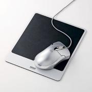 SANWA SUPPLY 山业SANWA MPD-ALUM 金属铝制鼠标垫 适合激光/光学鼠标 日本制造 黑色