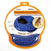 宜客莱 MPD-013RB ErgoFits水滴蓝护腕鼠标垫