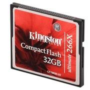 金士顿 32GB 266X CF存储卡(CF/32GB-U2)