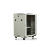 英拿 AS系列网络机柜 20U 600mm*600mm*1000mm 灰白色 前钢化玻璃