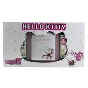 富士 趣奇俏checkyciao 便携式手机照片打印机 手机拍立得 Hello Kitty版 礼盒套装(白色)