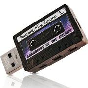 迪士尼 银河护卫队系列 创意手机优盘 8G  星爵磁带 双USB接口 USB3.0 珍藏纪念版