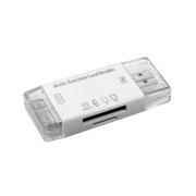思恩泰克 二合一读卡器 SD卡、TF卡(即Micro-SD卡)、MS记忆棒、M2卡