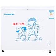 长虹 BCD-219ATH 219升 蝶形门双温双箱冰柜(白色)
