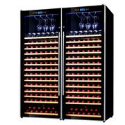 赛鑫 SRT-230双开门组合红酒柜压缩机恒温酒柜 挂杯款