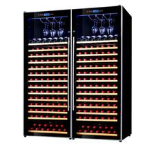 赛鑫 SRT-230双开门组合红酒柜压缩机恒温酒柜 挂杯款产品图片主图