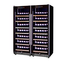 赛鑫 SRT-128A双开门组合红酒柜压缩机恒温酒柜展示柜 14个展示架产品图片主图