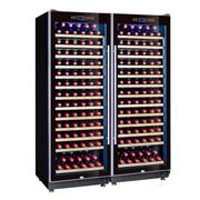 赛鑫 SRT-128A双开门组合红酒柜压缩机恒温酒柜展示柜 26个平放架
