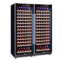 赛鑫 SRT-128A双开门组合红酒柜压缩机恒温酒柜展示柜 26个平放架产品图片主图