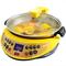 多尔玛 自动炒菜机CC3 智能炒菜锅 电热锅烹饪锅 电火锅电煮锅炒菜机器人(黄色)产品图片3