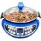 多尔玛 自动炒菜机CC2 家用多功能智能烹饪锅 电炒锅电煮锅炒菜机器人(蓝色)产品图片1