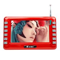小霸王 视频播放器SU-7001A 4.3英寸老人看戏机高清视频扩音器便携式收音机 红色 标配无卡产品图片主图