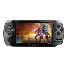 小霸王 PSP游戏机掌机206 4.3寸触屏街机学习机 内置海量经典游戏可下载可换电池GBA 黑色 标配8G版本+8G内存卡产品图片主图