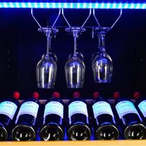 赛鑫 SRW-230D恒温红酒柜  商用双温风冷冷藏柜 明拉手挂杯产品图片主图