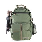 吉尼佛 /相机包CP-01 赵默笙同款双肩背包 数码单反摄影包电脑包 防盗户外包 军绿色