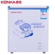 康佳 BC/BD-108DTH 108升单门卧式冷柜 顶开式冷藏冷冻两用