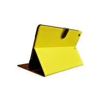 魅士 iPad Air多角度支撑调节皮套 黄色产品图片主图