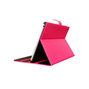 魅士 iPad Air多角度支撑调节皮套 玫红