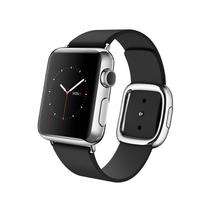 苹果 Apple Watch 智能手表(黑色/38毫米表壳/现代风扣式表带)产品图片主图