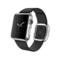 苹果 Apple Watch 智能手表(黑色/38毫米表壳/现代风扣式表带)产品图片1
