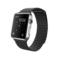 苹果 Apple Watch 智能手表(黑色/42毫米表壳/皮制回环形表带)产品图片1