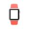 苹果 Apple Watch SPORT 38毫米银色铝金属表壳搭配橙色运动型表带产品图片2