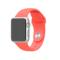 苹果 Apple Watch SPORT 38毫米银色铝金属表壳搭配橙色运动型表带产品图片4