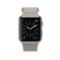 苹果 Apple Watch 智能手表(石纹色/42毫米表壳/皮制回环形表带)产品图片2