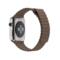 苹果 Apple Watch 智能手表(浅棕色/42毫米表壳/皮制回环形表带)产品图片4