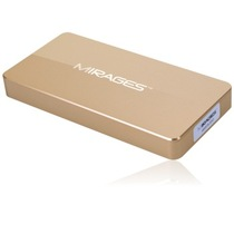 幻影金条 M3系列 256G 固态硬盘USB3.0移动版(香槟金)产品图片主图