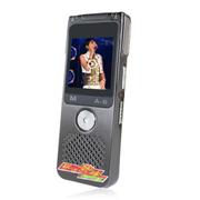 现代笔 专业录音笔 远距离高清摄像机微型 降噪会议学习录像笔外放MP3 黑色L751