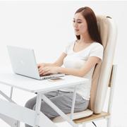 索弗 SF-642 爱舒服豪华3D多功能按摩座  按摩垫按摩椅垫坐垫靠垫按摩器 米白
