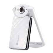 卡西欧 EX-TR500自拍神器美颜自拍数码相机 白色单机版