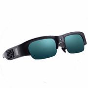 喜木 智能眼镜 蓝牙眼镜 可听歌通话智能设备 拍照广播录音录像GPS定位可穿戴眼镜 黑色