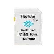 东芝 FlashAir Wireless LAN model W-03 16GB SD-R016GR7AL03A