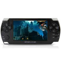 小霸王 掌机PSP游戏机68 4.3寸触屏街机学习游戏双系统内置9000款游戏 可下载MP5 黑色 标配8G版本+16G卡产品图片主图