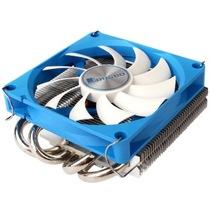 乔思伯 HP-400电商版 多平台超薄下吹CPU散热器 四热管9CM温控静音风扇产品图片主图