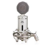 isk BM-5000大振膜电容麦克风电脑K歌麦克风专业录音话筒声卡套装