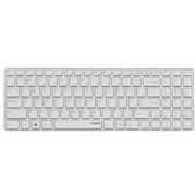 雷柏 E9100P 无线超薄键盘 银色