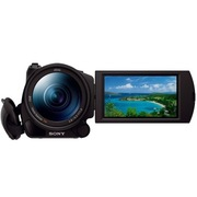 索尼 HDR-CX900E 数码摄像机 (1英寸CMOS 100FPS 广角蔡司镜头 触摸屏)
