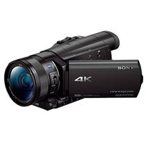 索尼 FDR-AX100E 4K高清数码摄像机产品图片主图