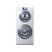 卡萨帝 C8 U12W1 12公斤 双子云裳双筒洗 智能wifi滚筒(奢华白)全自动 洗衣机
