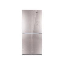 韩电 BCD-408DCV4J 408升对开双门四门冰箱(奢华金)产品图片主图